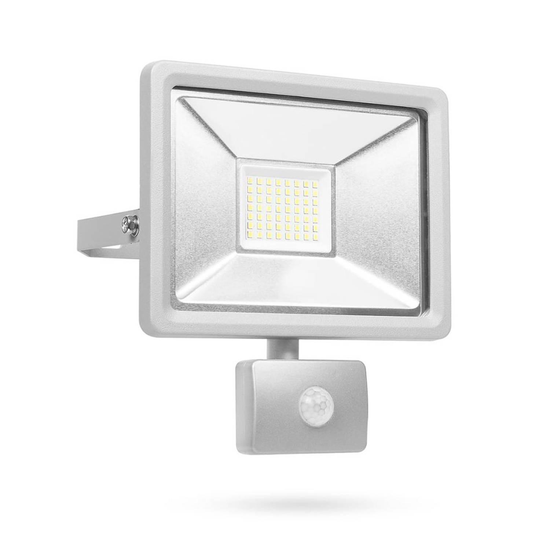 Smartwares LED-beveiligingslamp met sensor 30 W grijs SL1-DOB30