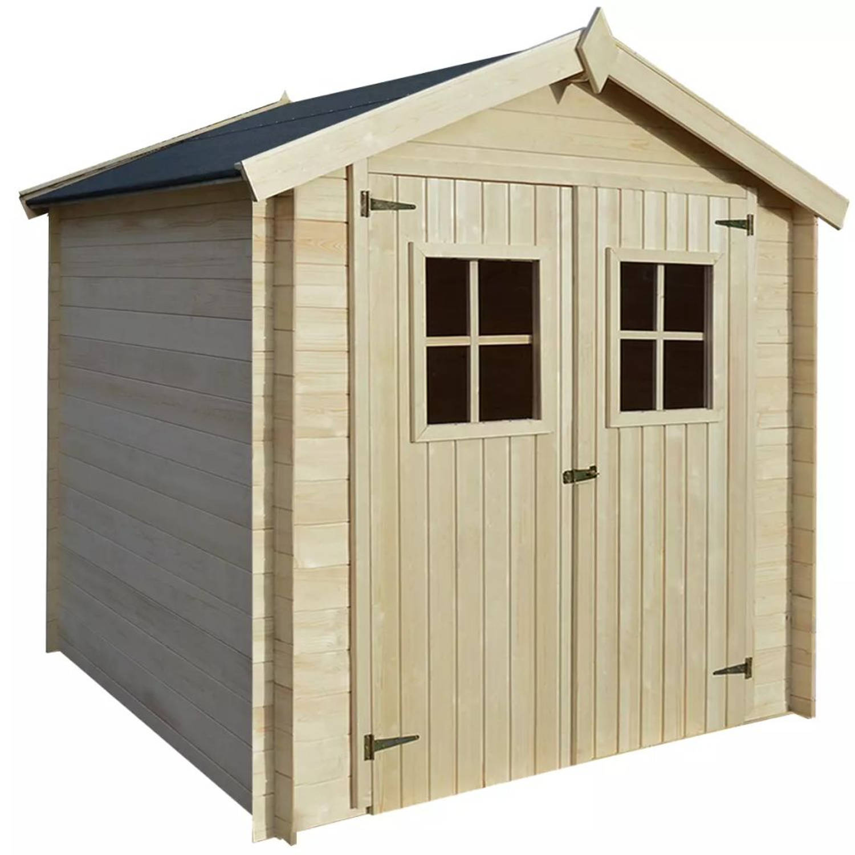 vidaXL Tuinhuis 2x2 m 19 mm hout