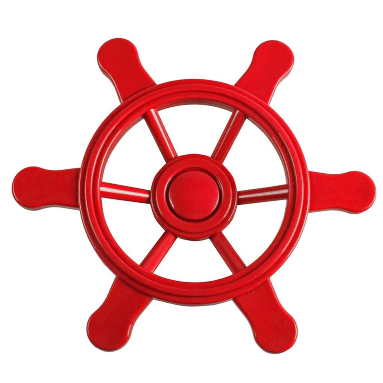 Swing King Piraten stuurwiel 21,5 cm klein rood 2552015