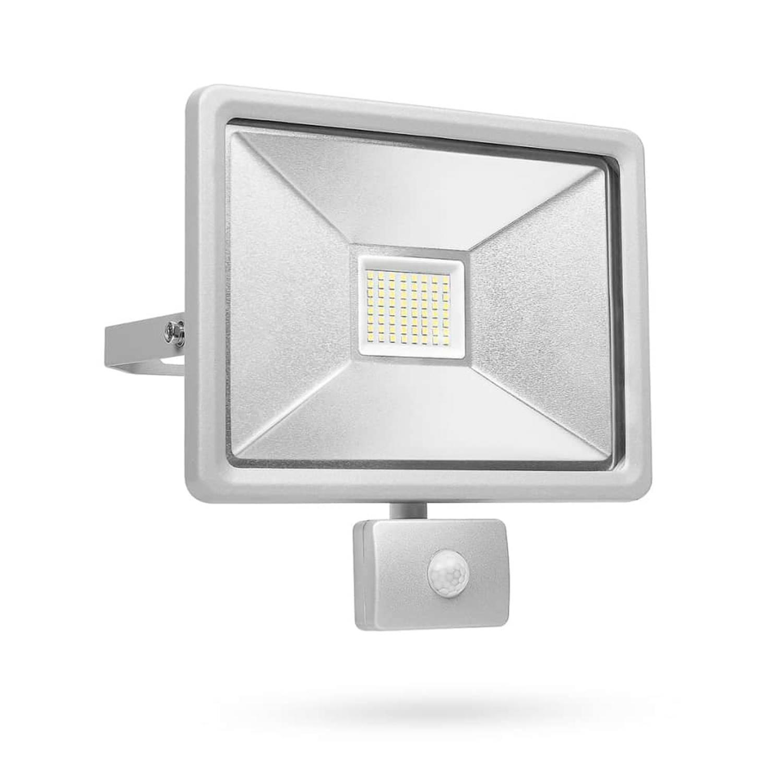 Smartwares LED-beveiligingslamp met sensor 50 W grijs SL1-DOB50