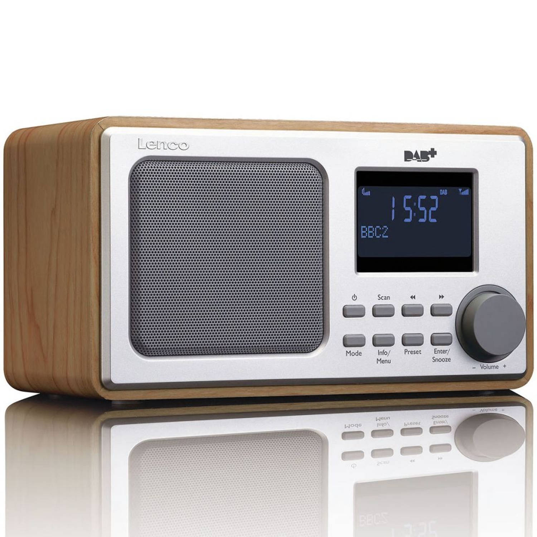 Lenco DAB+ Radio DAR-010 hout