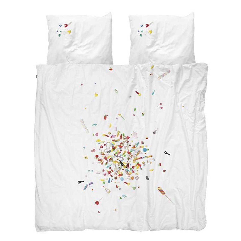 Snurk Beddengoed SNURK Candy Blast dekbedovertrek - Lits-jumeaux (240x200/220 cm + 2 slopen)