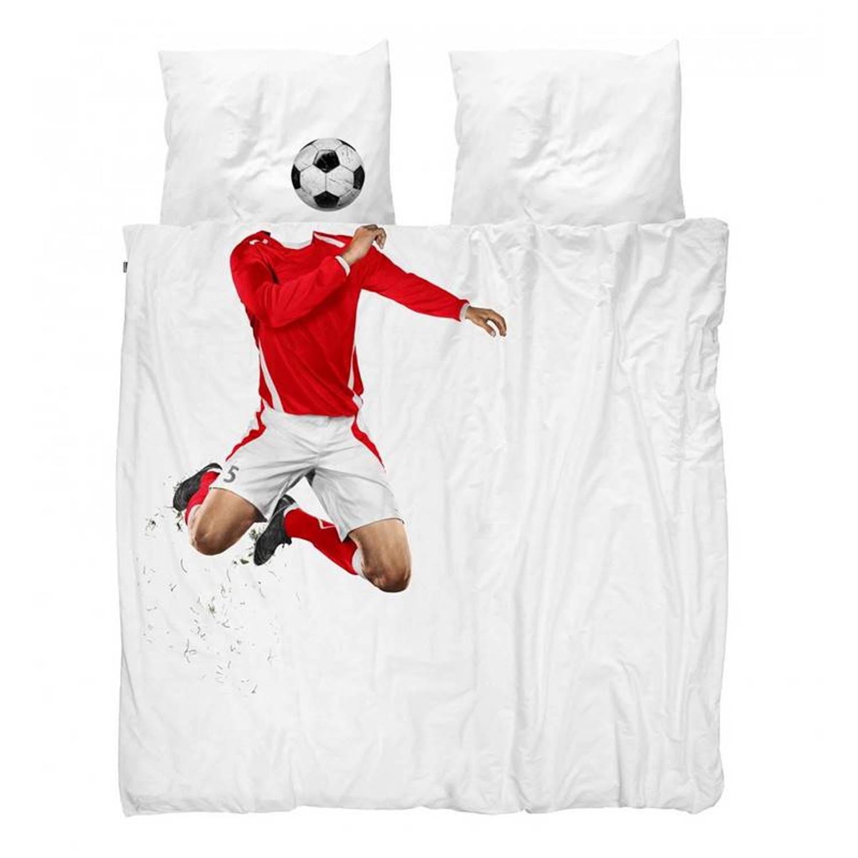 Snurk Beddengoed SNURK Soccer Champ dekbedovertrek - Lits-jumeaux (240x200/220 cm + 2 slopen)