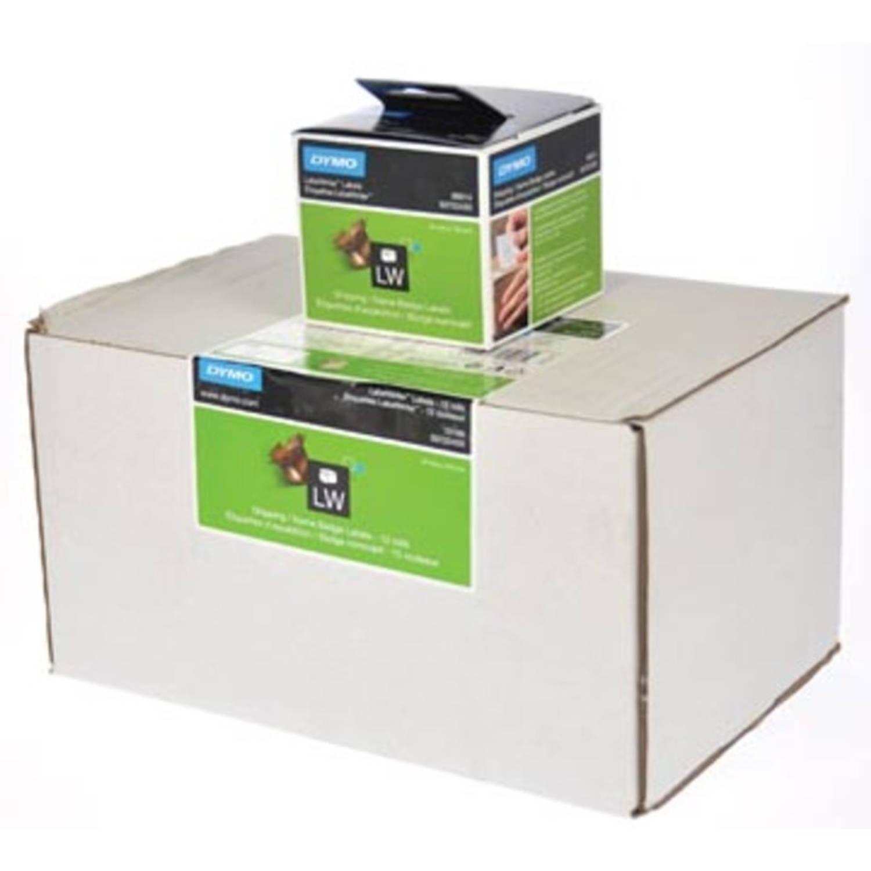 Dymo etiketten LabelWriter ft 101 x 54 mm, wit, 2640 etiketten