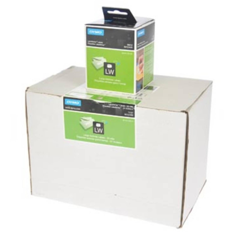 Dymo etiketten LabelWriter ft 89 x 36 mm, wit, 6240 etiketten