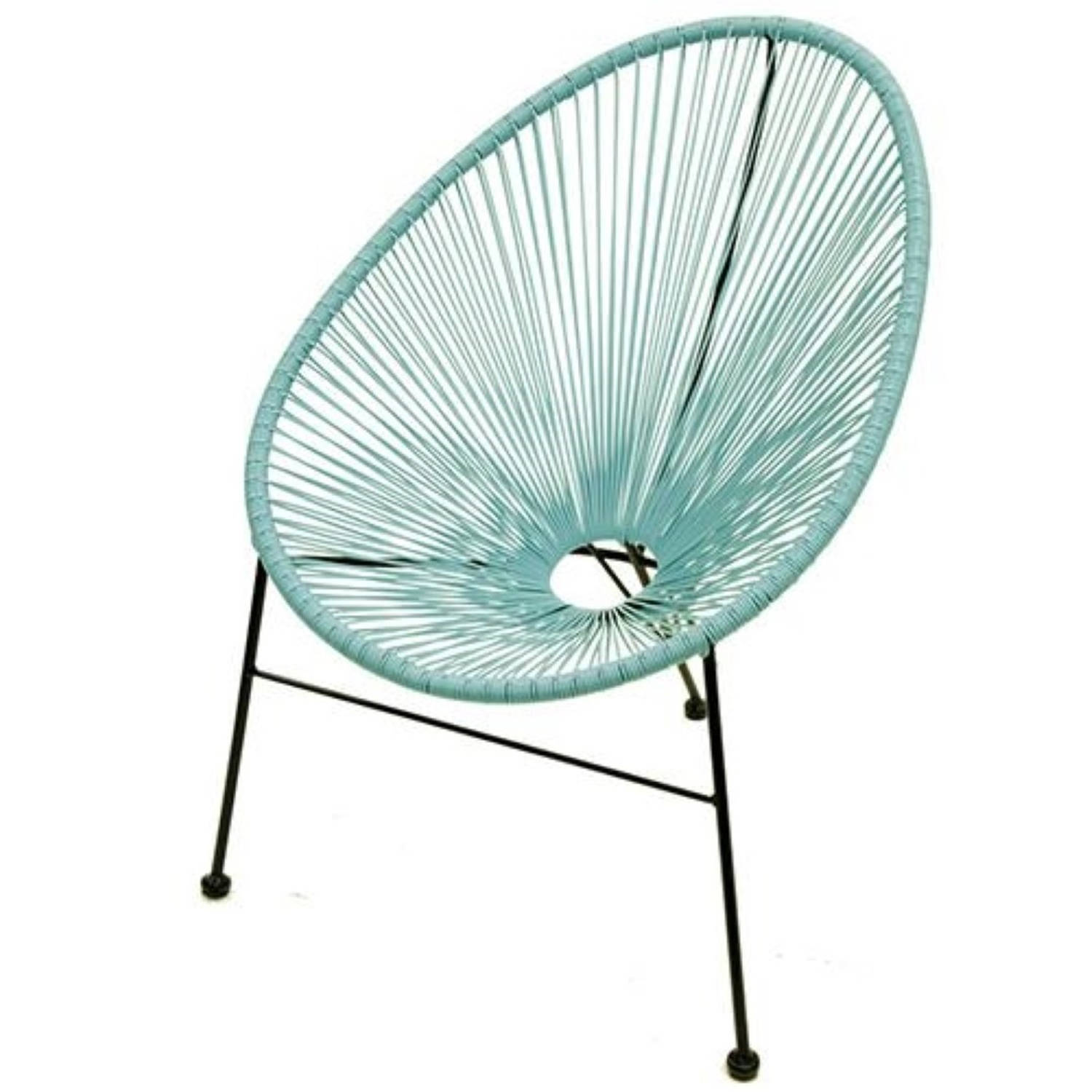 Salsa fauteuil turquoise