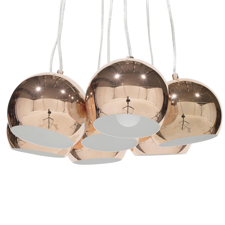 Korting Beliani Olza Hanglamp Metaal 14 X 14 Cm