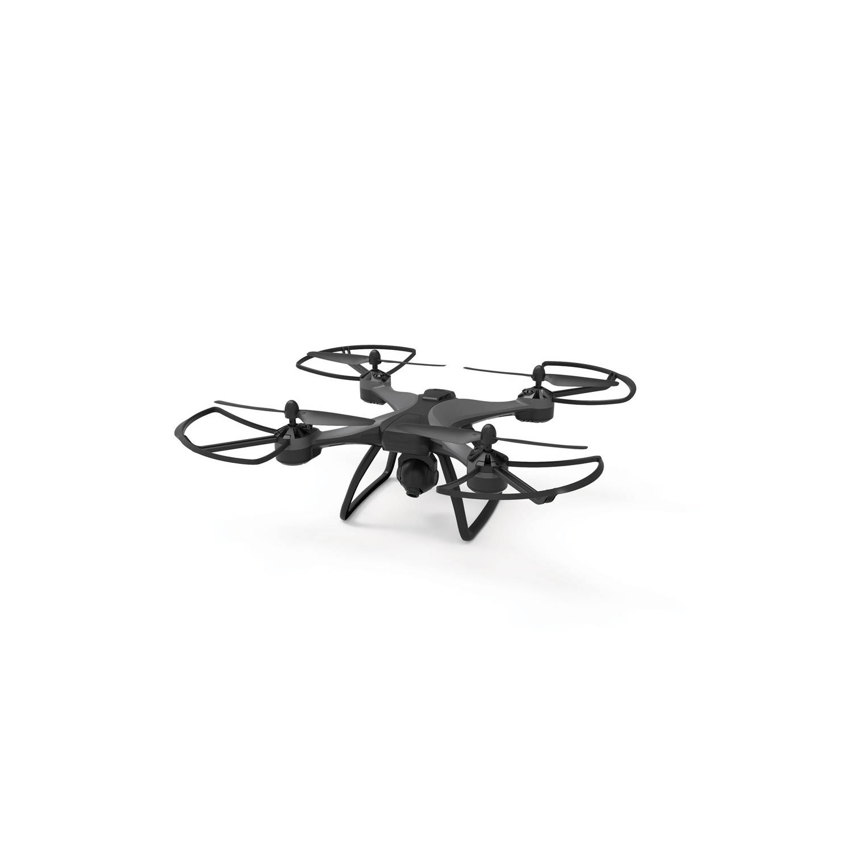Kaiser Baas Drone Trail 1080 1080P Stemactivatie Wi-Fi GPS Waypoint Orbit Follow Me Zwart