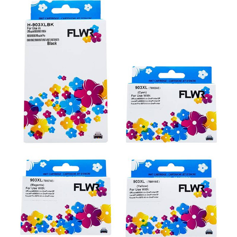 FLWR HP 903XL zwart en kleur Cartridge