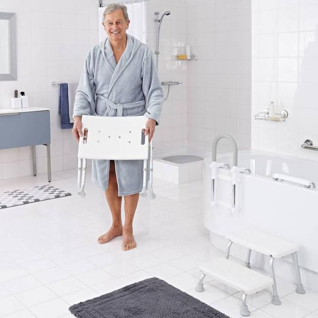 RIDDER Badkamerkruk inklapbaar 150 kg wit A0050301