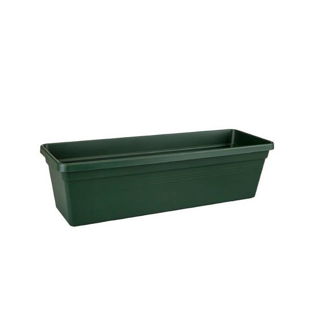 5 stuks Green basics balkonbak 60cm blad groen