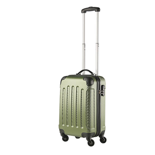Travelz handbagage koffer - 53 cm - Afneembare wielen - ABS - Khaki