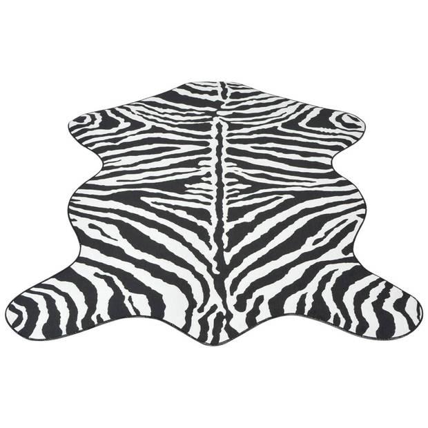 vidaXL Vloerkleed 110x150 cm zebra print