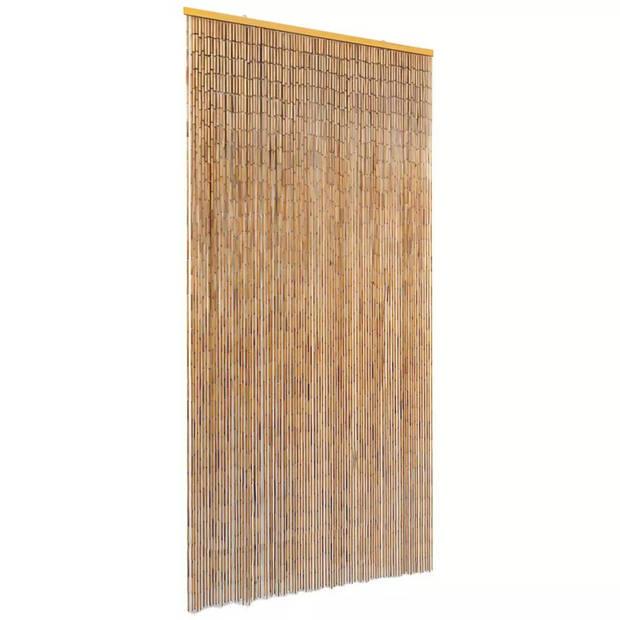 vidaXL Vliegengordijn 90x220 cm bamboe