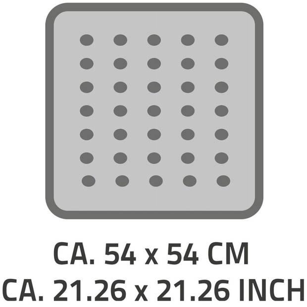 RIDDER Douchemat anti-slip Playa 54x54 cm wit 68401