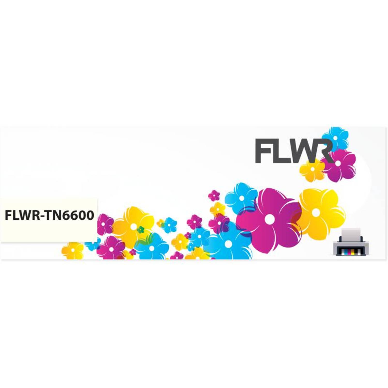 FLWR Brother TN-6600 zwart Toner