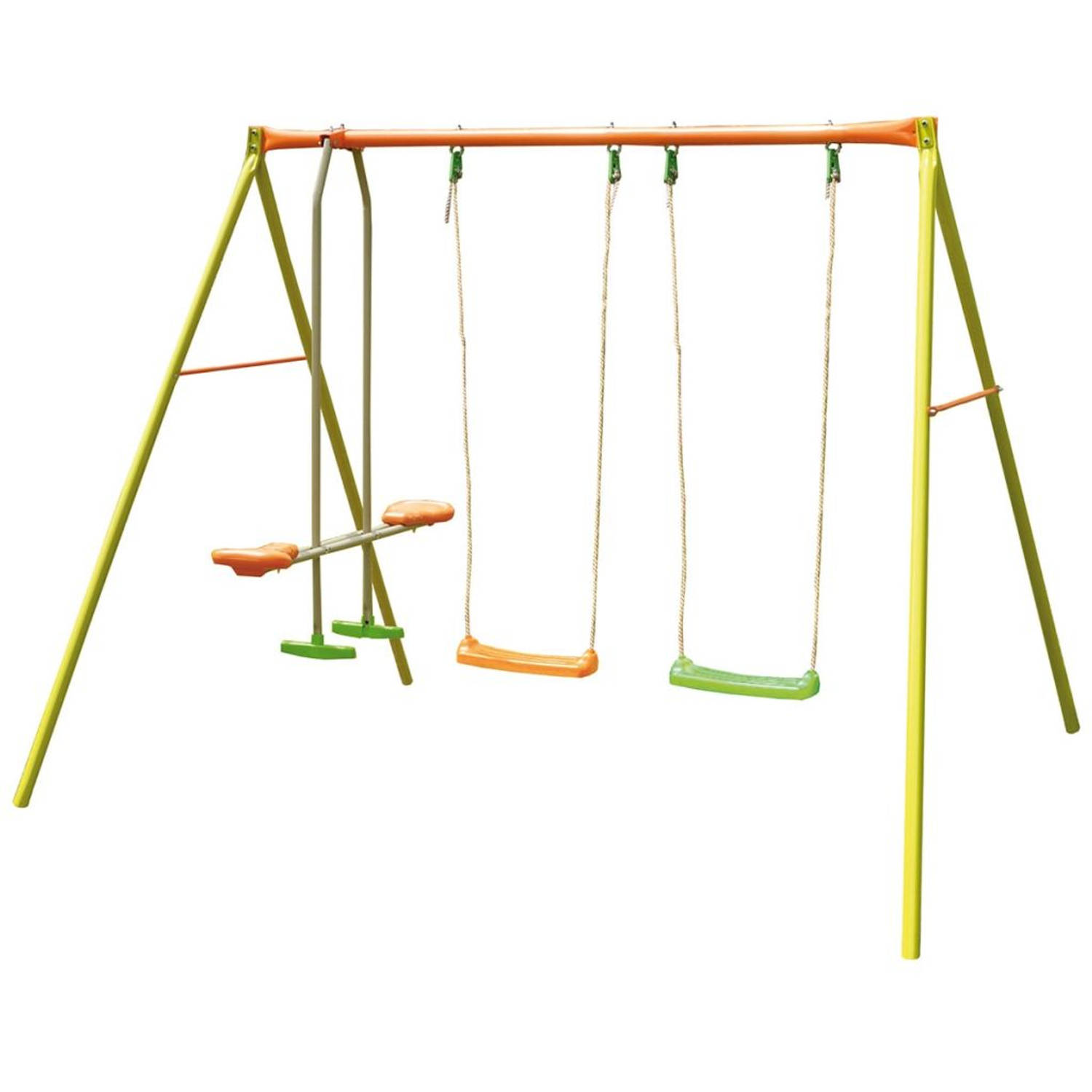 TRIGANO Agility schommelset Valwë 260x190x190 cm staal J-10455P6