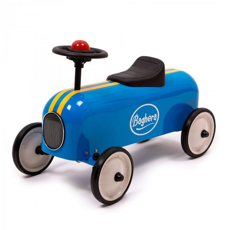 Afbeelding van Baghera Racer Retro Loopauto New Blue