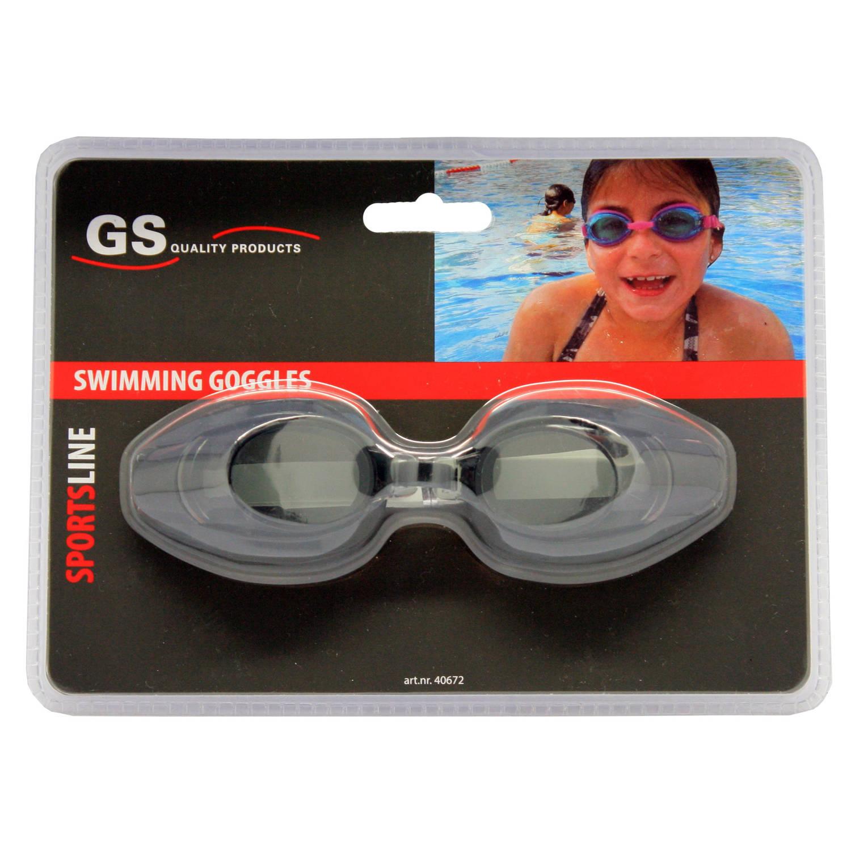 Zwembril zwart / duikbril