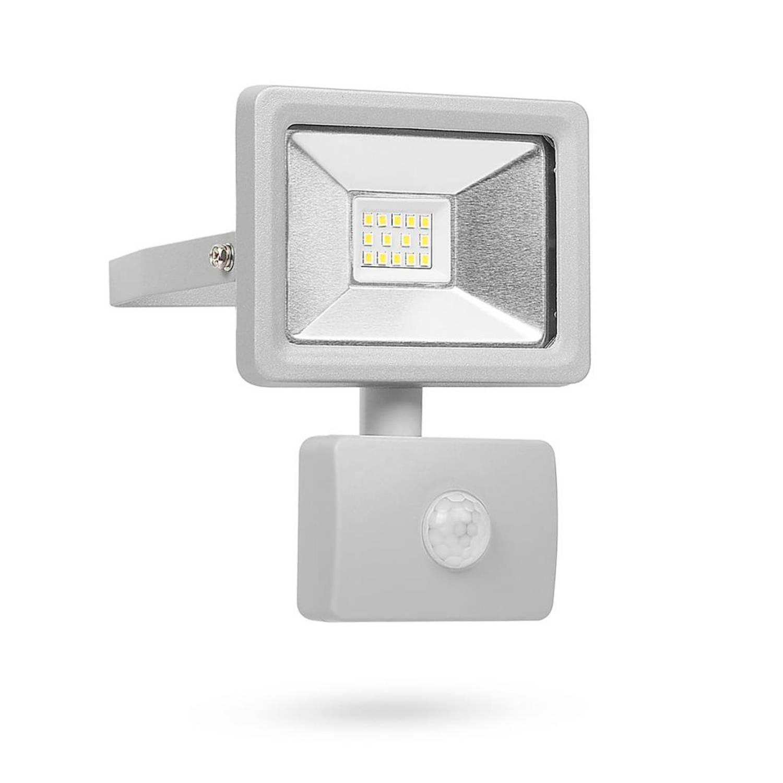 Smartwares LED-beveiligingslamp met sensor 10 W grijs SL1-DOB10