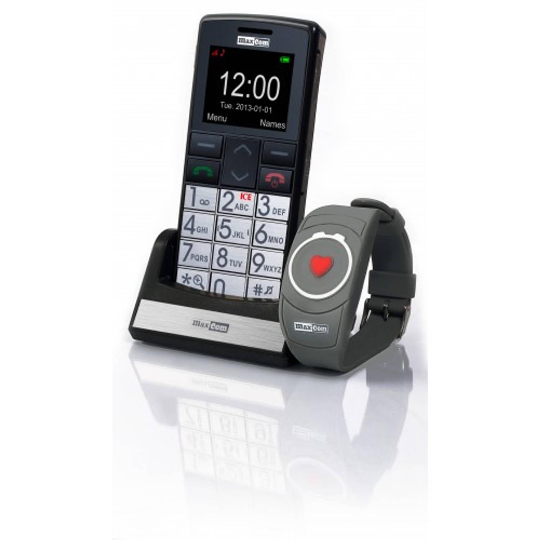 Maxcom senioren GSM met SOS armband