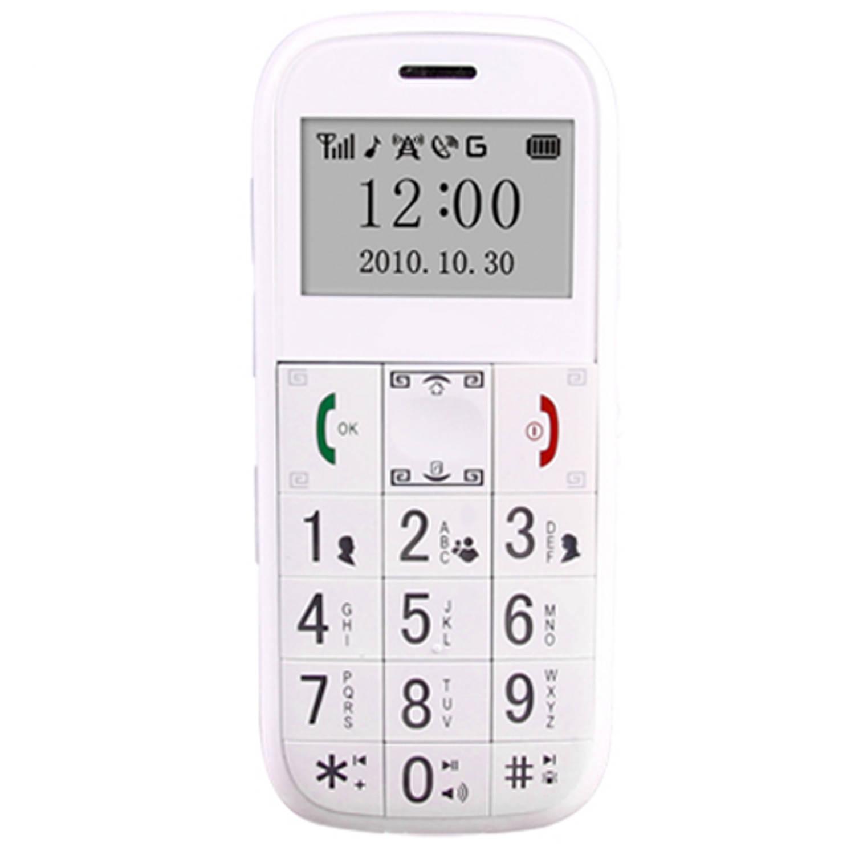 SYS Senioren mobiel met GPS en noodknop Wit