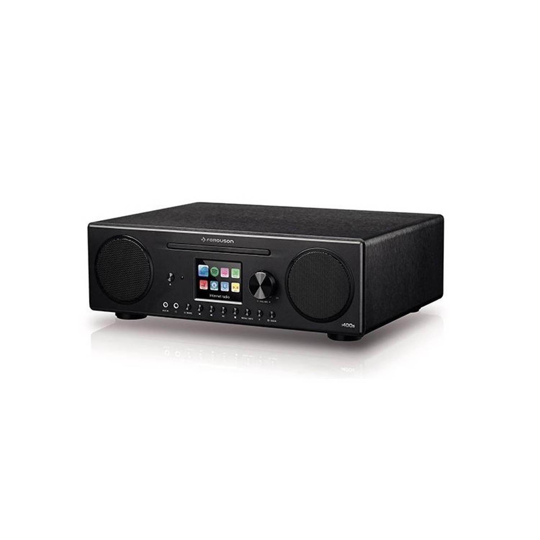 Ferguson i400s - CD - DAB+ - Internet - FM radio, Kleurenscherm, met dedicated App zwart