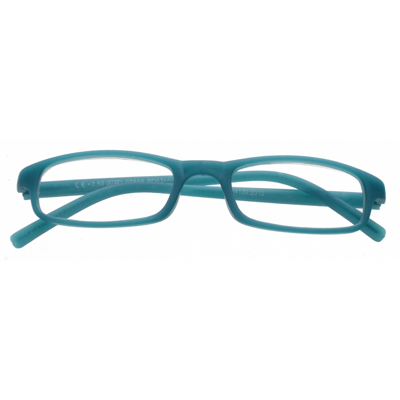 Korting Tom Leesbril Rechthoekig Unisex Blauw Sterkte plus 1.00