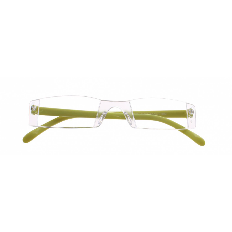 Korting Lifetime vision Leesbril Zonder Frame Unisex Groen Sterkte plus 1.00