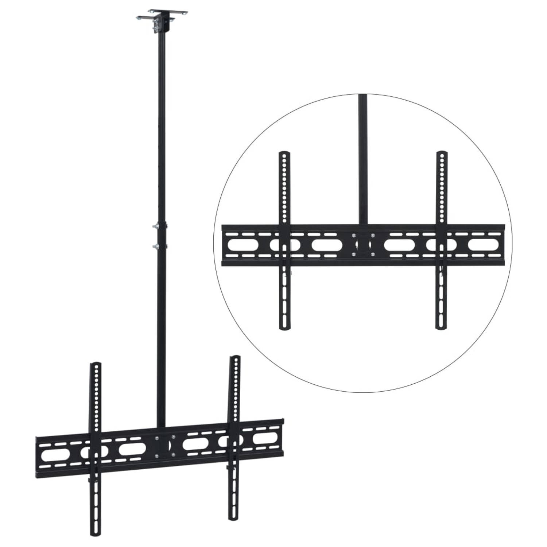 vidaXL Tv-plafondbeugel in hoogte verstelbaar 37-70