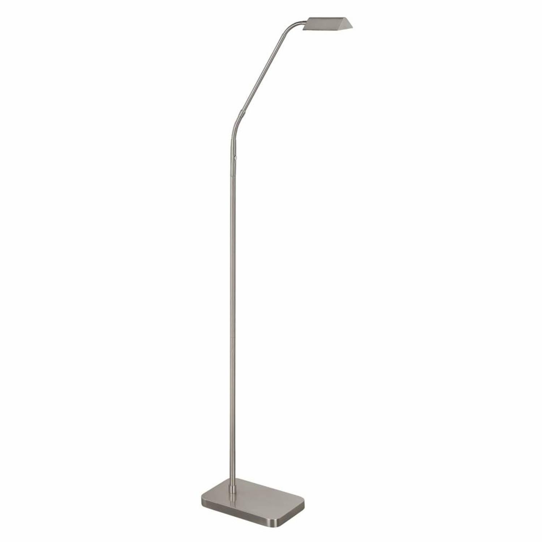 Highlight Vloerlamp Como mat chroom