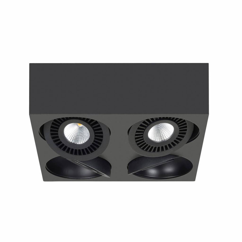 Highlight Spot Eye 4 lichts zwart