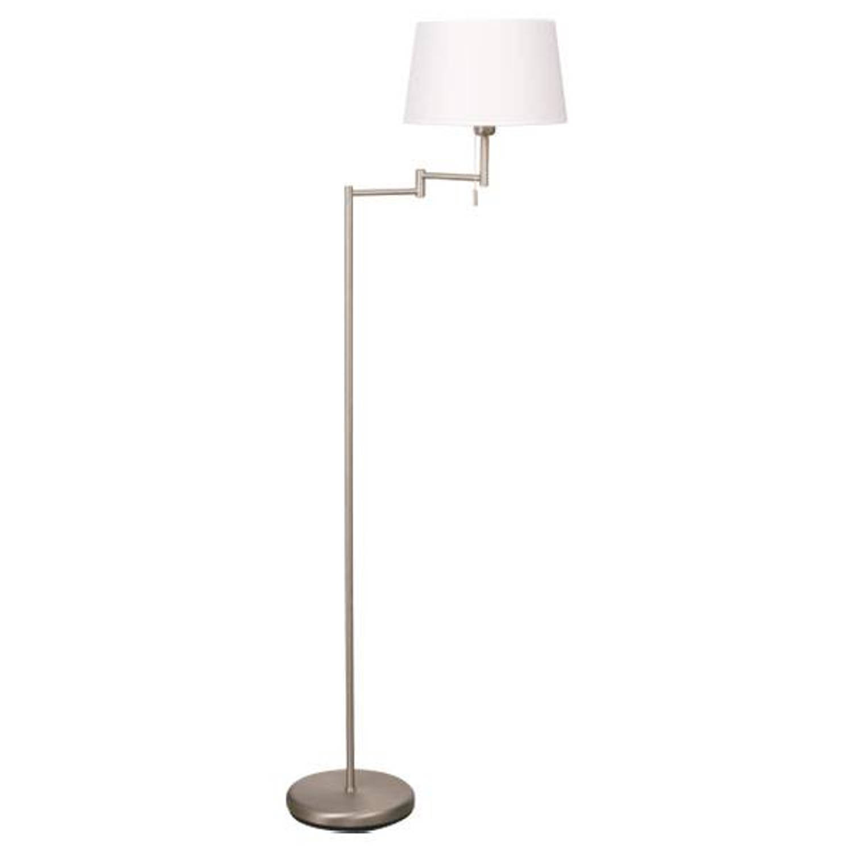 Steinhauer Vloerlamp Esperance mat-chroom