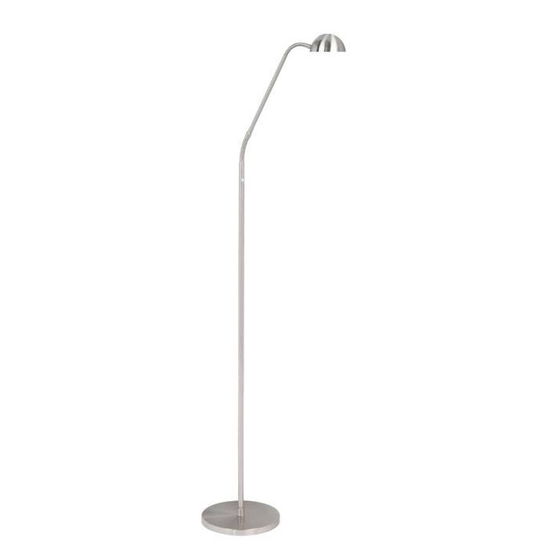 Highlight Vloerlamp Parma mat chroom