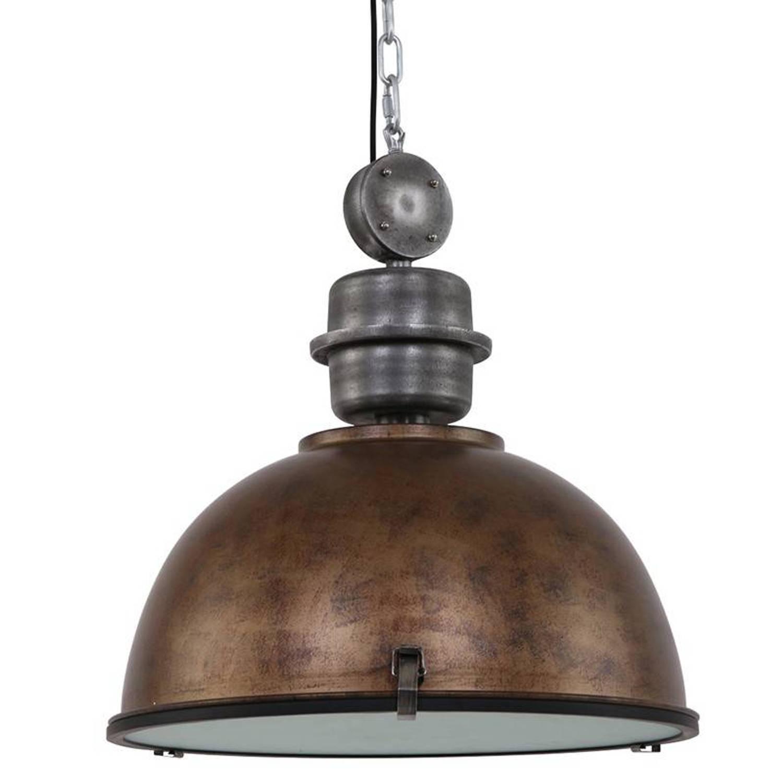 Steinhauer Hanglamp bikkel 52 cm bruin