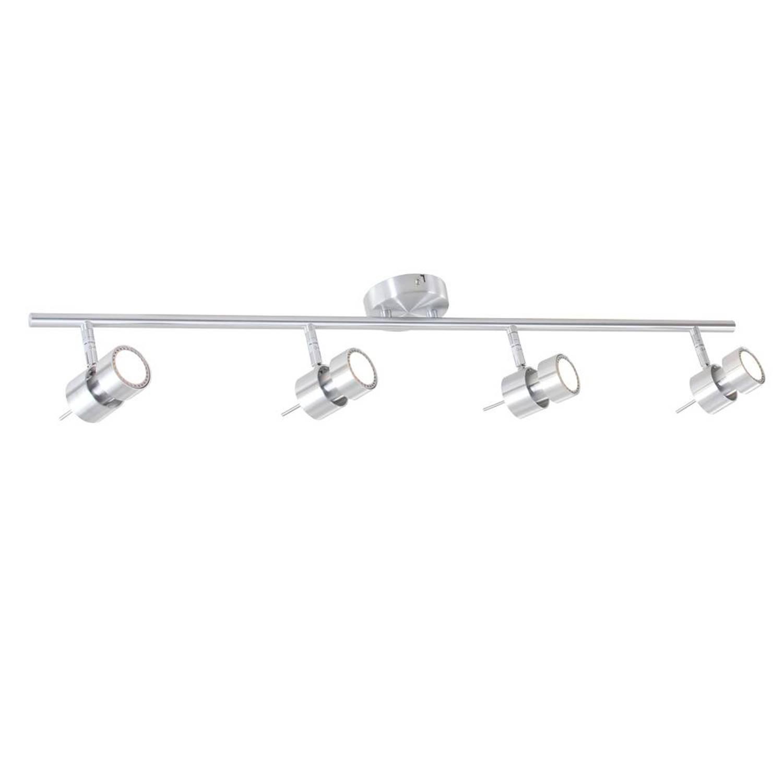 Steinhauer Spot Natasja LED aluminium 4 lichts