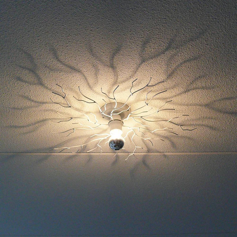 I-Lumen Plafondlamp Bichero klein wit