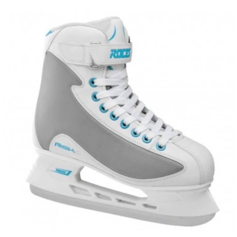 Roces ijshockeyschaatsen RSK 2 wit/grijs maat 37