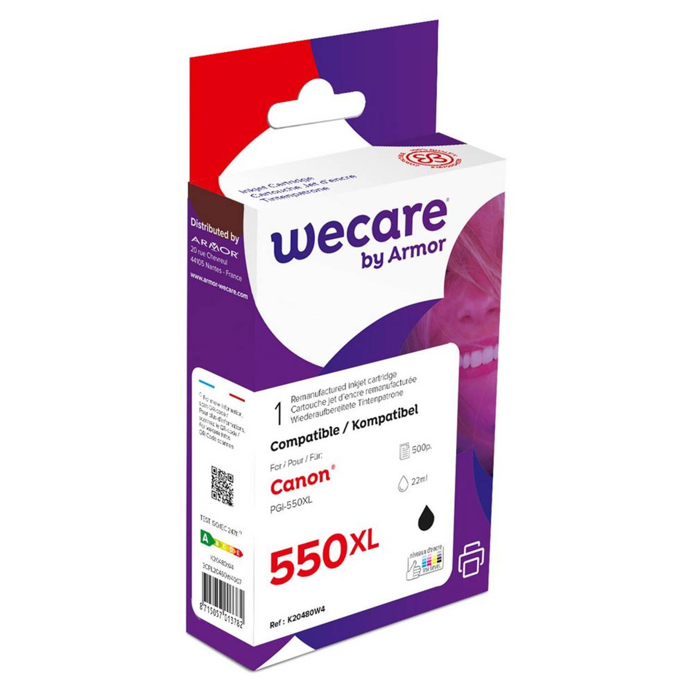 weCare Cartridge Canon PGI-550XL Zwart