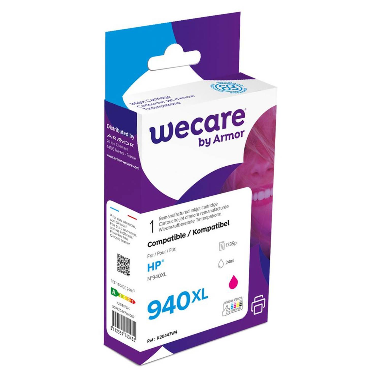 weCare Cartridge HP 940XL Rood