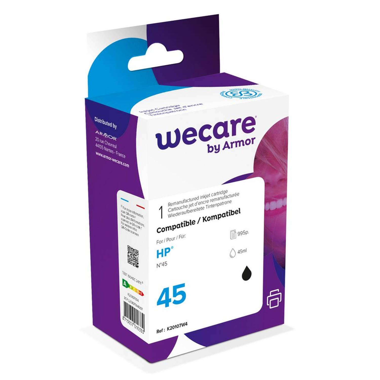 weCare Cartridge HP 45 Zwart
