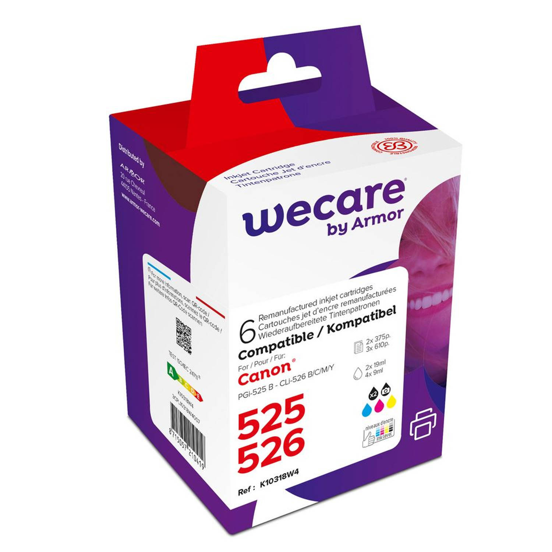 weCare Cartridge Canon PGI-525/CLI-526 Combipack