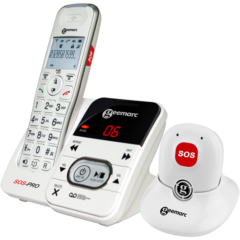 Geemarc DECT telefoon met SOS alarmknop