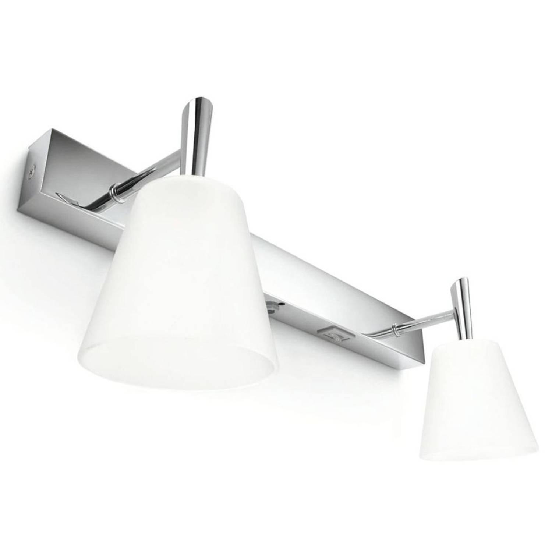 Philips myBathroom Wandlamp Hydrate 2x28W chroom en wit 340821116