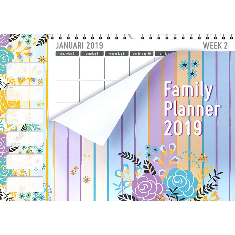 Famillieplanner 2019, XL Home, Pastel kopen