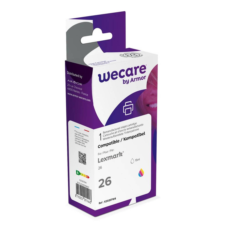 weCare Cartridge Lexmark 26 Tricolor