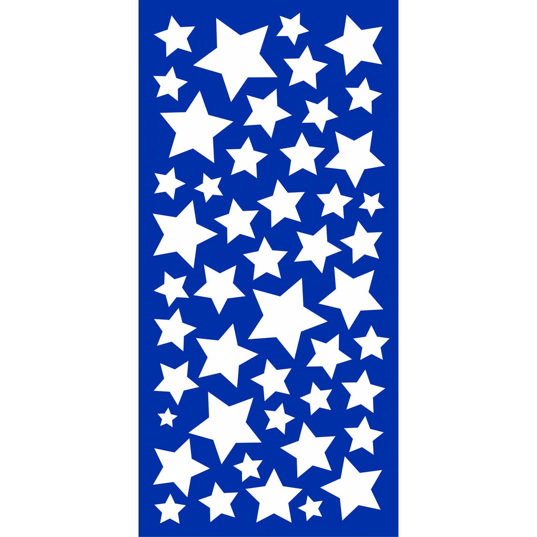 Kids Decor muurstickers sterren glow in the dark 15 x 31 cm