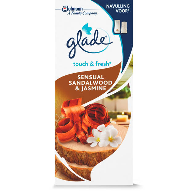 Glade Touch&fresh Navul Sandalwood & Jasmine