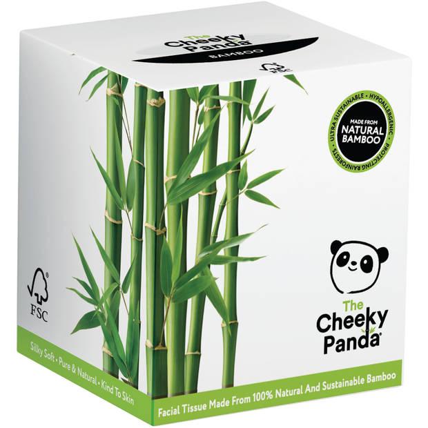 Cheeky Panda Bamboe Tissues Kubus