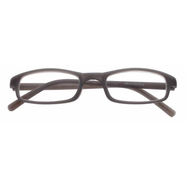 TOM Leesbril rechthoekig unisex grijs sterkte +2.00